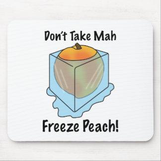 ¡No tome el melocotón del helada del Mah! Tapete De Ratón