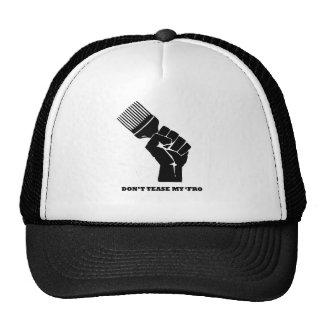 No tome el pelo mi para gorras