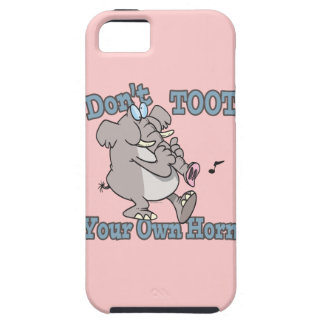no toot su propio dibujo animado del elefante del iPhone 5 carcasa