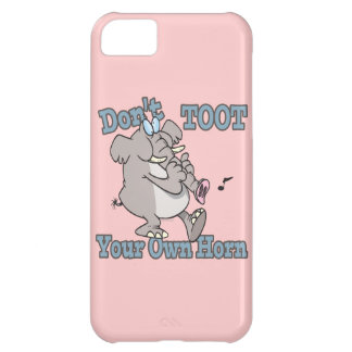 no toot su propio dibujo animado del elefante del  funda para iPhone 5C