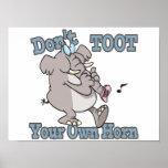 no toot su propio dibujo animado del elefante del  poster