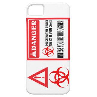 No toque el teléfono funda para iPhone 5 barely there