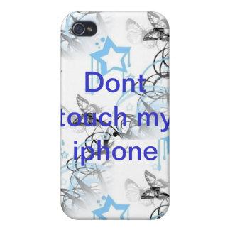 No toque mi iphone iPhone 4/4S funda