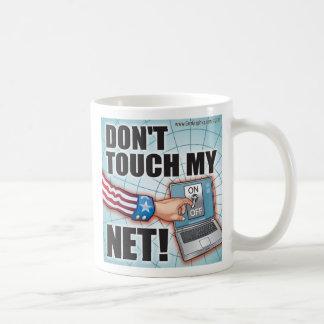 ¡No toque mi RED! Tazas De Café