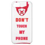 no toque mi teléfono