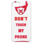 no toque mi teléfono iPhone 5 Case-Mate funda