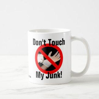 ¡No toque mis desperdicios! Taza Clásica