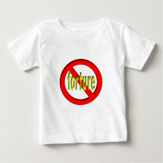 No Torture Baby T-Shirt