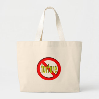 No Torture Large Tote Bag