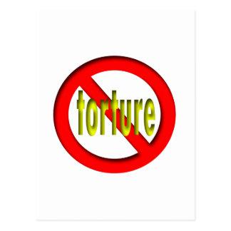 No Torture Postcard