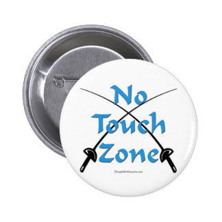 No Touch Zone Fencing Button
