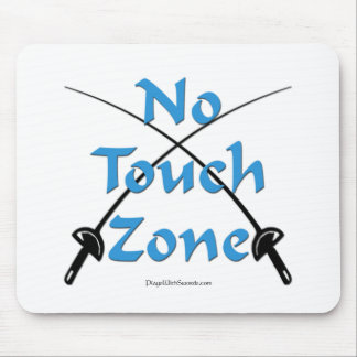 No Touch Zone Fencing Mouse Pad
