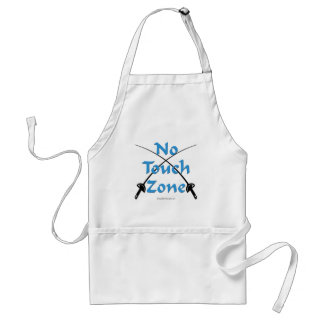 No Touch Zone Fencing templates Adult Apron