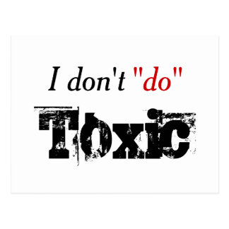 No Toxic Notice Postcard