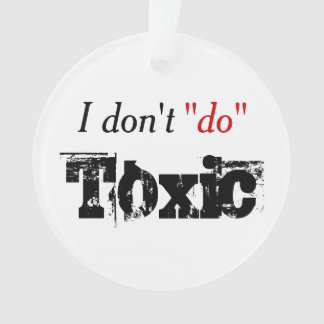 No Toxic Period Ornament