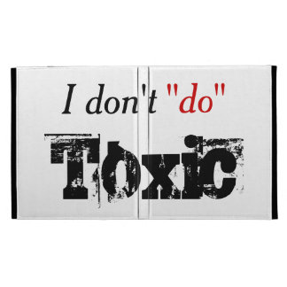 No Toxic Relationships iPad Folio Cover