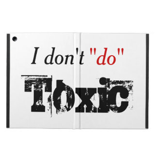 No Toxic Relationships iPad Air Case