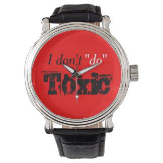 No Toxic Reminder Wristwatch