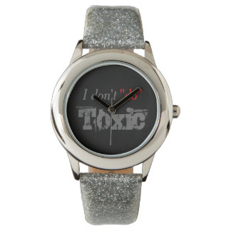 No Toxic Situations for Me Wristwatch
