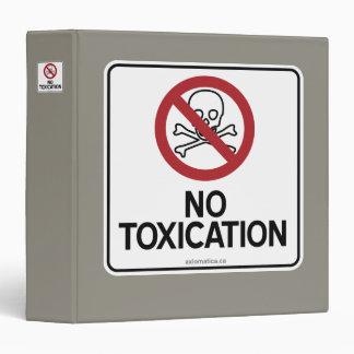 NO TOXICATION BINDER
