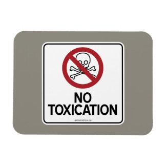 NO TOXICATION VINYL MAGNETS