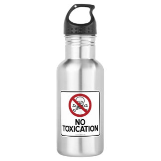 NO TOXICATION STAINLESS STEEL WATER BOTTLE