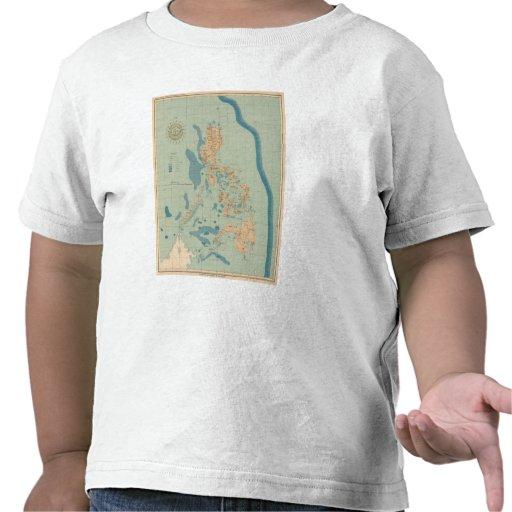 No trace ningún 4 orográfico camisetas