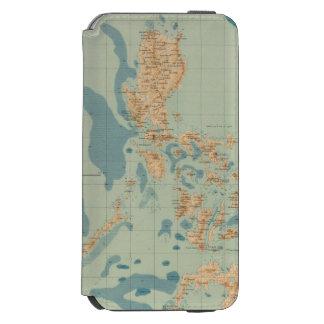 No trace ningún 4 orográfico funda billetera para iPhone 6 watson