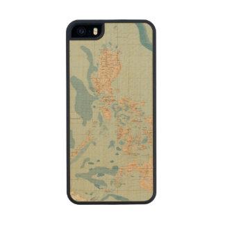 No trace ningún 4 orográfico funda de arce carved® para iPhone 5