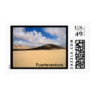 No trails on the sand postage