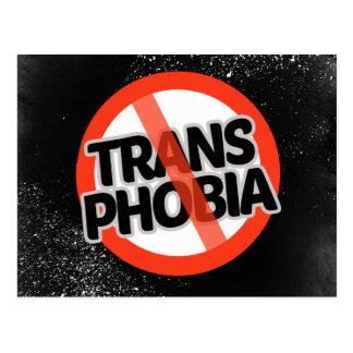 No Trans Phobia - -  Postcard