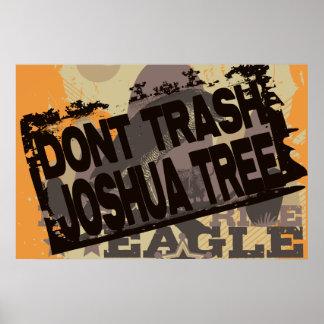 No trash el poster de la yuca