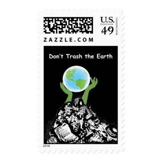 No trash el sello de la tierra