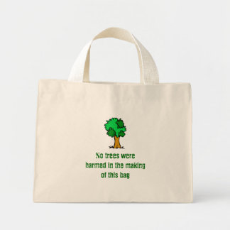 No Trees Were Harmed Canvas Bag