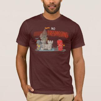 No Trespassing! by Mafai the Dragon T-Shirt