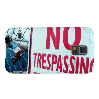 No Trespassing Galaxy S5 Cover