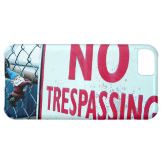No Trespassing iPhone 5C Cover