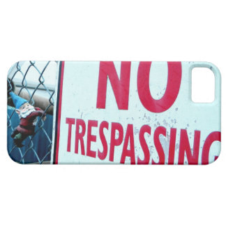 No Trespassing iPhone SE/5/5s Case