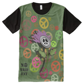 No Trident Scottish Thistle T-Shirt