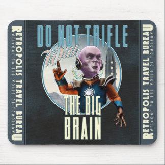 No trifle con el cojín de ratón grande del cerebro tapetes de ratón