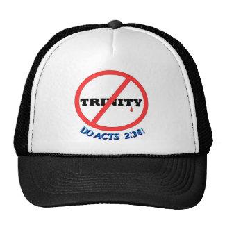 NO TRINITY, DO ACTS 2:38! TRUCKER HAT