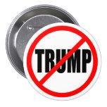 'NO TRUMP' 3-inch Pinback Button