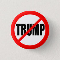 'NO TRUMP' (ANTI-TRUMP) 1.25-inch Button