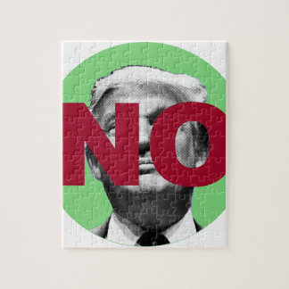 No Trump (Green and Red) Jigsaw Puzzle