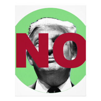 No Trump (Green and Red) Letterhead