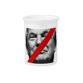 No Trump International Sign Drink Pitcher