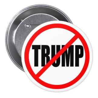 'NO TRUMP' PINBACK BUTTON