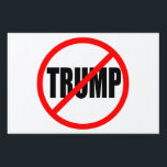 "&quot;NO TRUMP"" (single-sided) Lawn Sign<br><div class=""desc"">&quot;NO TRUMP"" (single-sided) YARD SIGN</div>"
