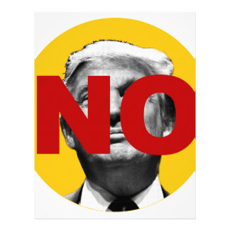 No Trump (Yellow and Red) Letterhead