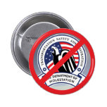No TSA Button Pin